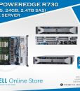Dell PowerEdge R730 Server ( Xeon E5-2630, DOS, PS 750W) 2