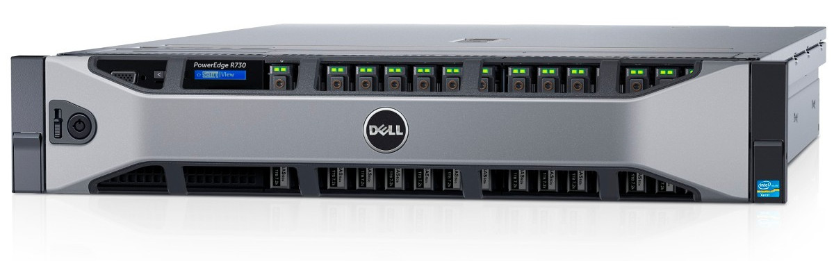 Dell PowerEdge R730 Server ( Xeon E5-2630, DOS, PS 750W)