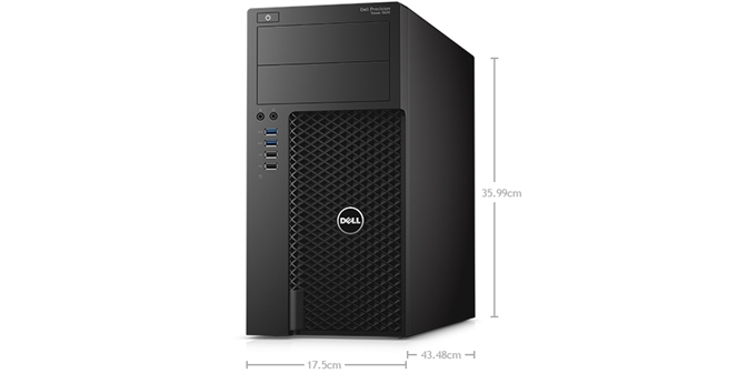 Dell Precision T3620 (Xeon E3-1270,VGA Quadro 2Gb, Win10) + LED 21.5""